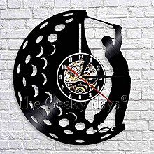 CVG Play Golf Wall Clock Golf Club Wall Sign Wall