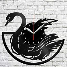 CVG Swan Vinyl Record Wall Clock ArtDecor Original