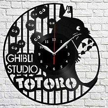 CVG Totoro Vinyl Record Wall Clock Home Fan Art