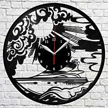 CVG Yachting Vinyl Record Wall Clock Art Decor