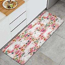 CVSANALA Anti-Fatigue Kitchen Floor Mat,Bichon
