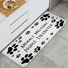 CVSANALA Anti-Fatigue Kitchen Floor Mat,Cats