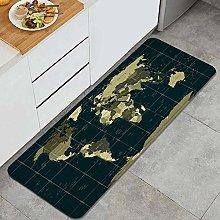 CVSANALA Anti-Fatigue Kitchen Floor Mat,Detailed