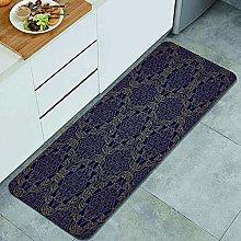CVSANALA Anti-Fatigue Kitchen Floor Mat,Navy in