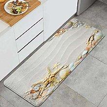 CVSANALA Anti-Fatigue Kitchen Floor Mat,Seacoast