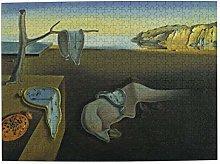 CVSANALA Jigsaw Picture Puzzles 500 Pieces,Clock