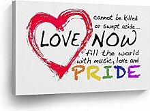 cwb2jcwb2jcwb2j Canvas Print Gay Lesbian Lgbt Love