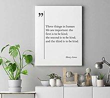 cwb2jcwb2jcwb2j Canvas Print Henry James Quote