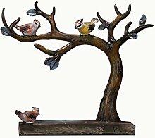 CWENROU Statue Decoration - Fashion Retro Bird