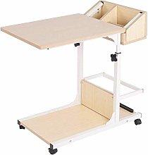 CWJ Height Adjustable Sofa Table C-Table Laptop