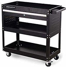 CWJ Service Cart Cargo Shelf Car Repair Mobile