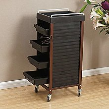 CWJ Service Cart Trolley with Shelf, Easy to Move