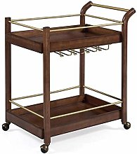 CWJ Storage Trolley Cart Kitchen Rolling Storage
