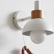 CWJ Wood Wall Lighting Fixture - White,Nordic