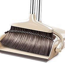 CWSMM Long Handled Dustpan and Brush Set with