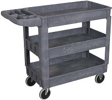 CX203 3-Level Composite Heavy-Duty Trolley - Sealey