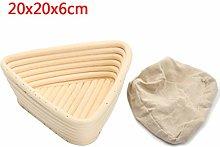 Cxnwuggfvsc Wicker Bread Proofing Basket Food