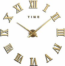 Cxssxling Wall Clock Silent Round Pendulum Funny