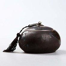 CXWK Ceramic Tea Box Spice Jar Kitchen Decor Sugar
