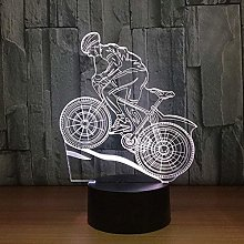 CXY-JOEL 3D USB Creative Led Night Lights Mountain