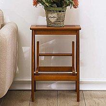 CXY-JOEL Wooden Step Stool Bedside Cabinet Kitchen