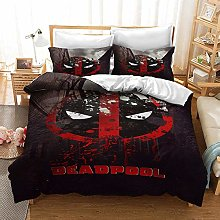 CXYY Deadpool Children's Bedding Set with