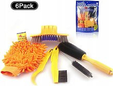 Cycling brush, bicycle cleaning brush, cleaning