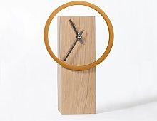 Cyclock Tabletop Clock Gracie Oaks Colour: Sunny