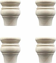 Cylficl. 4Pcs Furniture Legs,Sofa Feet,Round Table