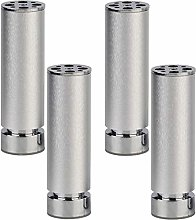 Cylficl. Furniture Legs Adjustable Aluminum Alloy