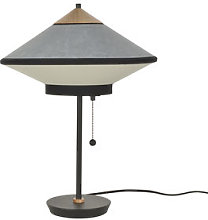 Cymbal Table lamp - / Ø 35 cm - Velvet by