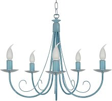 Cynthia 5-Light Candle Style Chandelier Lily Manor