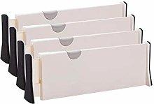 CZXKJ Drawer Organizers Adjustable Drawer Storage