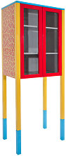 D'Antibes Cabinet by Memphis Milano