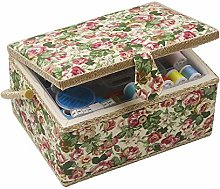 D&D Sewing Basket with Sewing Kit, Sewing Box