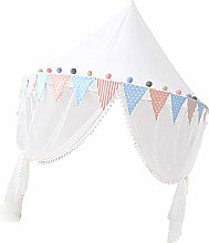 D DOLITY Kids Bed Canopy With Mosquito Netting