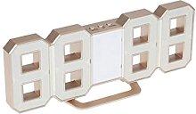 D DOLITY Multi-Functional Desk/Shelf Wall Clock