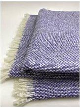 D&T Design - Lambswool Blanket Canyamel Flieder,
