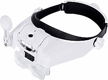 D&XQX USB Rechargeable Hands Free Headband