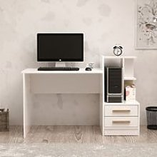 Dabby Desk - with Shelves, Drawers - for Office,