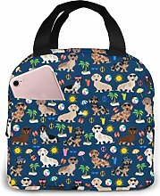 Dachshund Summer Beach Doxie Summer Beach Day Navy