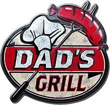 Dad's Grill Wall Décor Borough Wharf