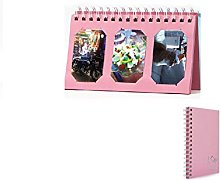 DadaA Photos Album Desk Calendar Style 60 Pockets