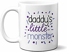 Daddy's Little Monster Purple and Blue 15oz