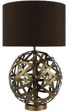 Där Lighting - Antique Copper Ball Voyage Lamp -