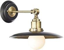 Där Lighting - Black & Antique Brass Hannover