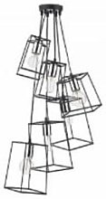 Där Lighting - Black & Silver Cluster Tower 6