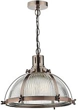 Där Lighting - Debut Antique Copper Pendant Light