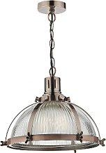 Där Lighting - Debut Antique Copper Pendant Light