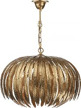 Där Lighting - Gold Atticus 5 Pendant Light - Gold